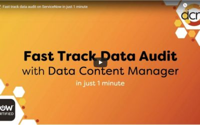 Video: Fast Track Data Audit on ServiceNow in Just 1 Minute