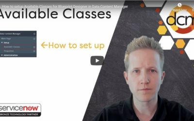 Video: How to Set Up Available Classes for Blueprint Designer